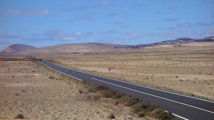 Carretera En Lanzarote