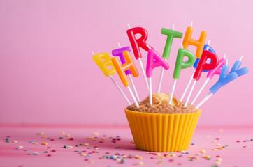 Cupcake, Geburtstag, Muffin