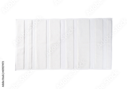 white carpet isolated on white background - 65927473