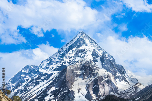 Foto op Aluminium India Mount Sudarshan in the Indian Himalayas