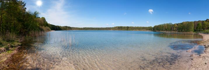 Der Weiße See bei Wesenberg, Südmecklenburg