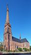 Catholic church of St. Bernard in Karlsruhe, Germany