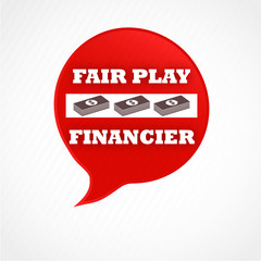 bulle sens interdit : fair play financier