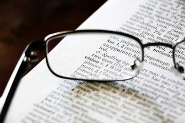 Vision glasses concept