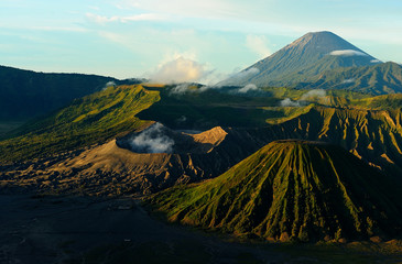 Volcano of Mount Bromo, Indonesia