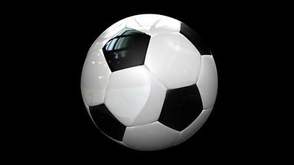 Seamless Looped Reflective Soccer Ball