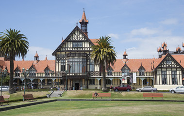 Rotorua Museum North island New Zealand