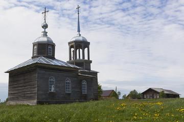 Церковь Илии Пророка в деревне Моисеевская, Вологодской области