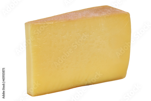 Staande foto Zuivelproducten Käse Bergkäse aus der Schweiz oder Österreich