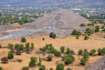 The Pyramid of the Moon, Teotihuacan, Mexico