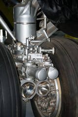 B52 front undercarriage wheels
