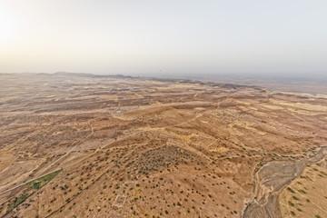 Maroc Marrakech desert aerial