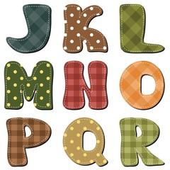 scrapbook alphabet