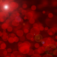 abstract bokeh red lights