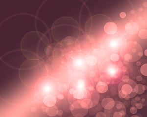 Lights on pink background.
