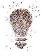 Large group of people with Ideas - 65942073