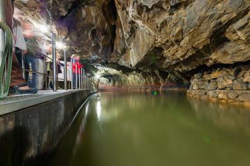 Macocha Cave in the Moravian Kras, Czech Republic