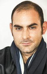 Portrait of a mediterranean man