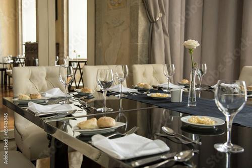 Papiers peints Situation Réception : table dressée