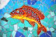 Ceramic Fish the Amalfi Coast, Italy