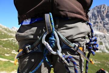imbragatura alpinista
