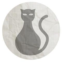 Button cat