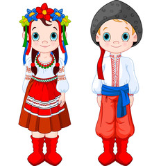 Ukrainian Boy and Girl