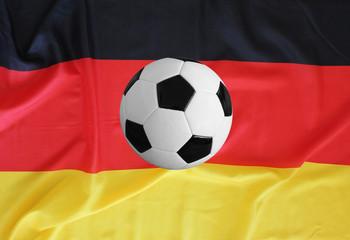 deutschlandfahne mit ball