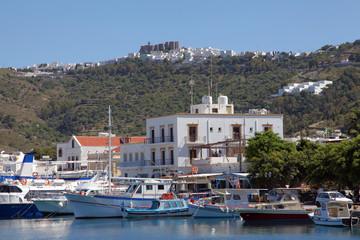 auf der griechischen Insel Patmos