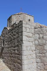 Kirche aus Naturstein auf Patmos, Griechenland