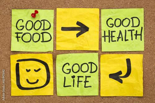 Zdjęcia na płótnie, fototapety, obrazy : good food, health and life