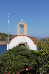 kleine Kirche auf der Insel Patmos, Griechenland
