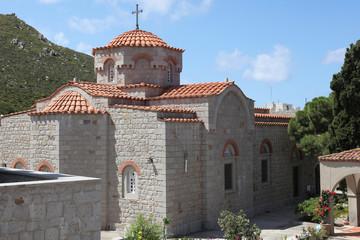 Kirche im Kloster Evangelismos auf Patmos