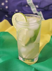 Cocktail - Caipirinha National drink of Brazil