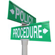 Policy Procedure Two Way Street Road Signs Intersection Company
