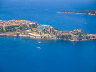 Kerkyra  Old Fortress, Corfu, Greece
