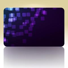 Beautiful gift card. EPS 8