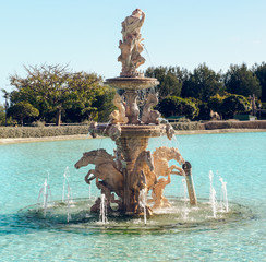 View of Neptune Fountain