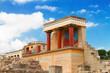 Knossos palace at Crete, Greece - 65957684