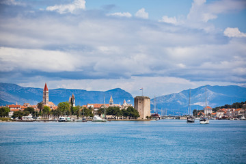 Trogir, Croatia view from the sea