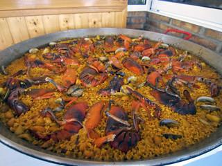 Gran Paella de bogavante