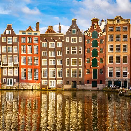 Papiers peints Amsterdam Old buildings in Amsterdam