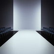 fashion empty runway - 65961015
