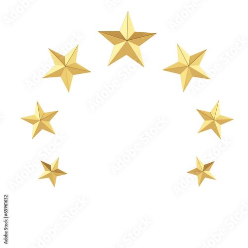 gold stars - 65961632