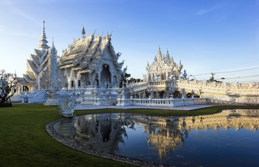 Rong Khun temple in Thailand