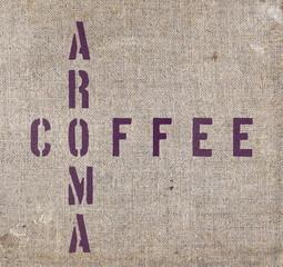 Kaffee - Tuch - Hintergrund
