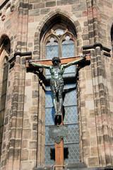 Christusstatue an St. Sebald