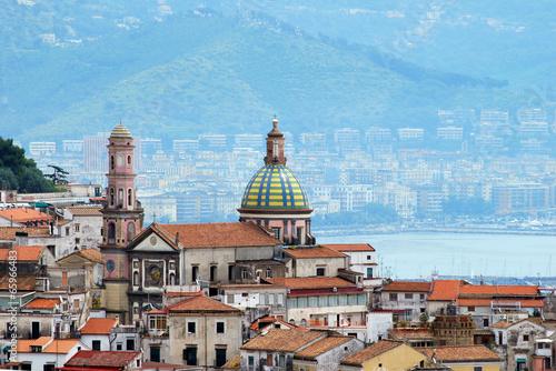 Leinwandbild Motiv Amalfi coast, City Vietri sul Mare
