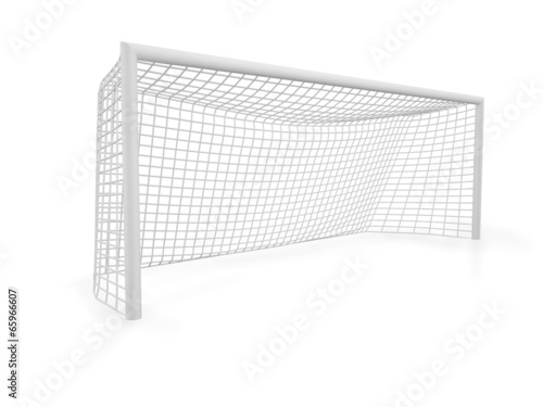 canvas print picture 3d football goals