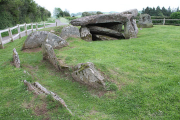 Arthurs Stone Neolithic chambered tomb Herefordshire England